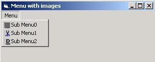 مشروع يوضح كيفية أدراج صور وايقونات للقوائم MenuBar فى الفجوال بيسك 6 Menu_icon